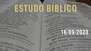 Estudo Bíblico (Carta aos Romanos - Capítulo 10) - 16/09/2020