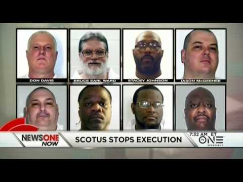 SCOTUS Stops Arkansas Death Row 'Assembly Line' Killings