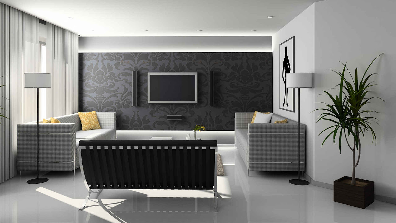 Wohnzimmer grau einrichten und dekorieren