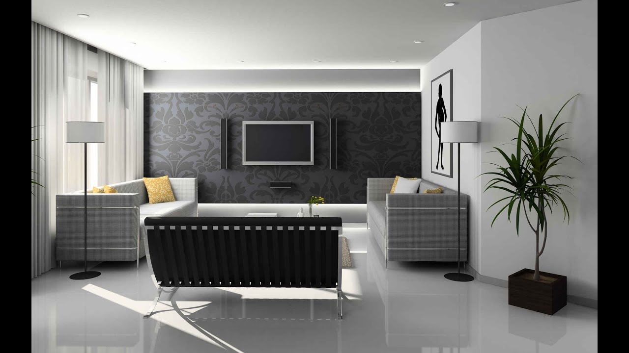Gray Living Room Ideas YouTube - Living room grey walls