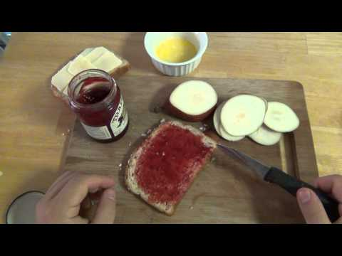 Cooking :  Actual Grilled Cheese (Fancy Version)
