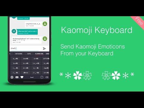 Kaomoji Keyboard for PC Windows (10, 8, 8.1 & 7) - Free Download