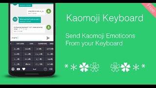 Kaomoji Keyboard - Japanese Emoticon Keyboard
