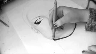 Drawing Avril Lavigne