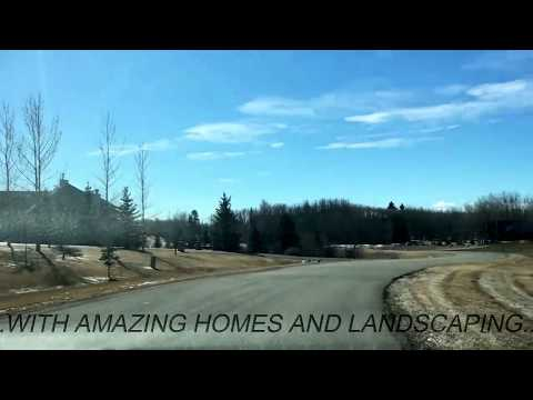 CHURCH RANCHES, BEARSPAW ALBERTA VIDEO