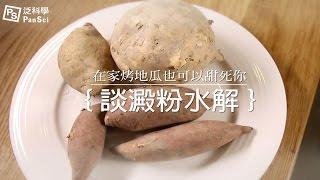 在家烤地瓜也可以甜死你-談澱粉水解|科學大爆炸2-EP.16 thumbnail