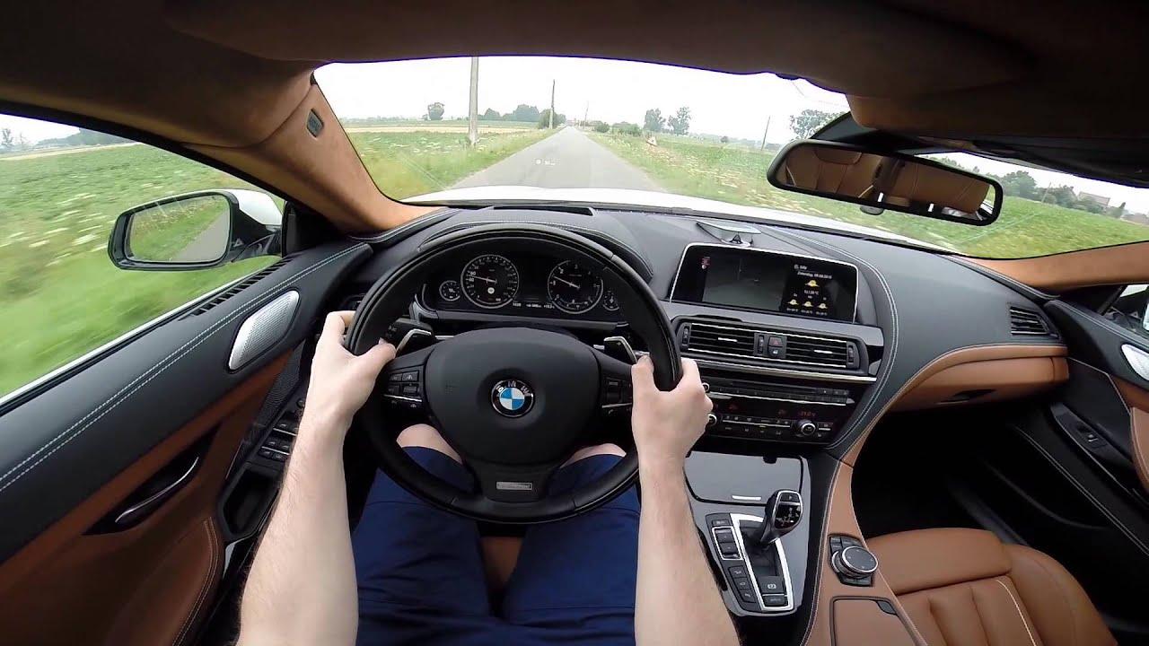 2015 BMW 6 Series Gran Coup 640d XDrive 313BHP POV Test