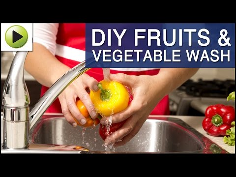 Homemade Fruit & Vegetable Wash