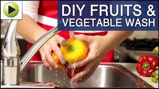 Homemade Fruit & Vegetable Wash