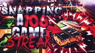 SNAPPING 106 GAME WIN STREAK IN NBA 2K17! 🔥😱   HIGH MYPARK WIN STREAK EXPOSED!   NBA 2K17 MYPARK
