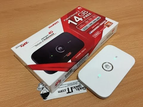 Mifi Router HUAWEI E5573 Speed 4G LTE JUMPER Bundling Telkomsel 14GB
