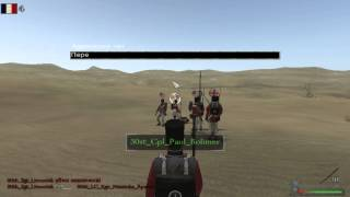30-й пехотный полк против 13-го полка гвардии Mount and blade Warband Napoleonic Wars