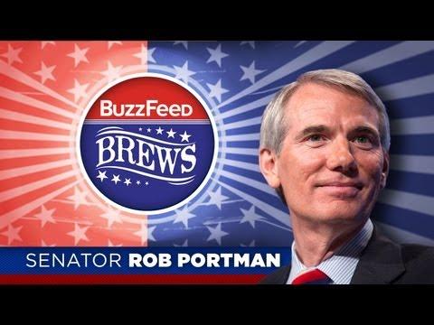 BuzzFeed Brews - Sen. Rob Portman