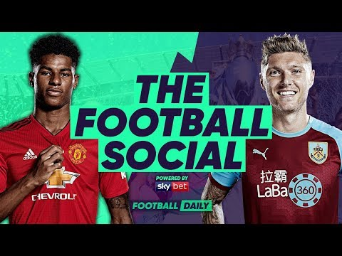 Man United 2-2 Burnley | United Comeback from 2-0 DOWN!!! | #TheFootballSocial