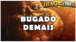HEARTHSTONE - BUGADO DEMAIS! (STANDARD OTK DK PALADIN)