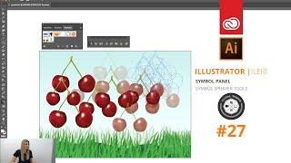 Adobe Illustrator CC Dersleri | #27 | Symbol Tool | Oyun tasarımı için harika bir araç anlatıyorum