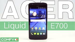 видео Обзор Acer Liquid E700: смартфон с тремя SIM-картами