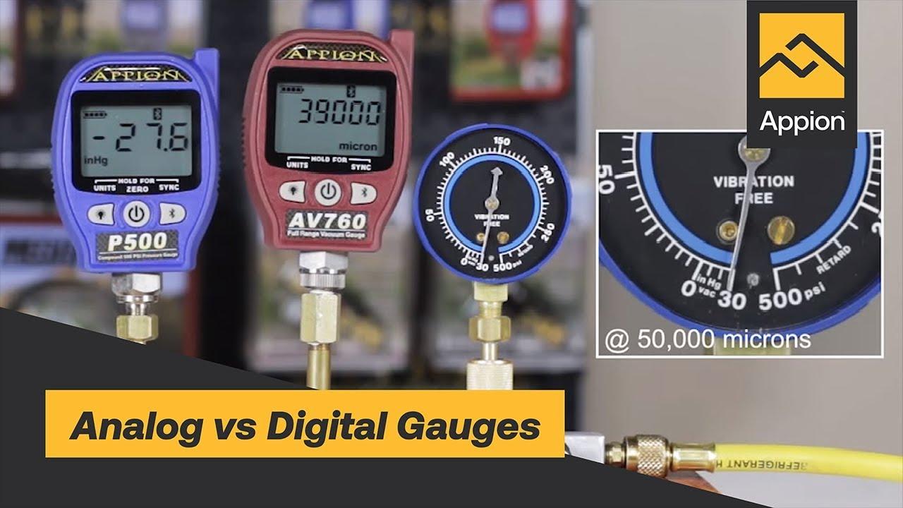 Appion AV760 Full Range Digital Vacuum Gauge