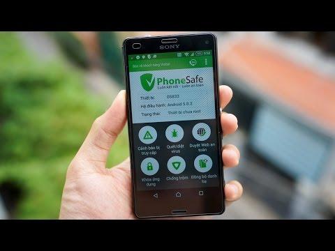 Dùng Thử ứng Dụng Viettel PhoneSafe: định Vị điện Thoại, Quét Virus, Khoá ứng Dụng...