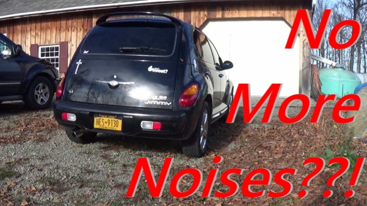 It FINALLY Doesn't Make Any Noises?? - PT Cruiser Vlog
