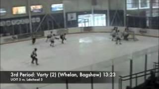 UOIT Ridgebacks Men's Hockey Highlights 10/17/2009