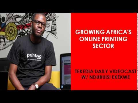 Growing Africa's Online Africa's Printing Sector | Ndubuisi Ekekwe