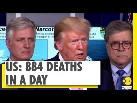 Highest rise in daily COVID-19 death toll in US | World News