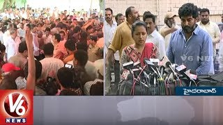 Anchor Suma & Political leaders Express Condolence On Dasari Narayana Rao Death | V6 News