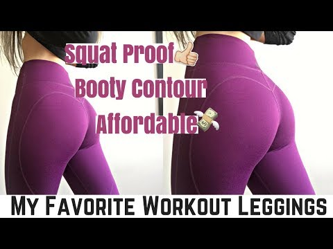 MY FAVORITE WORKOUT LEGGINGS   Affordable & Squat Proof