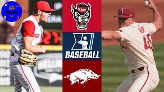 NC State vs #1 Arkansas (Game 3) | Winner To College World Series | 2021 College Baseball Highlights