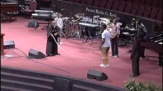 Pastor Jumping Rope Illustration-IBOC Church Dallas - Pastor Rickie G. Rush