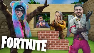 WHEN MINECRAFT YOUTUBERS PLAY FORTNITE!