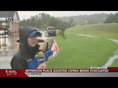 KXAN - Residents of Jefferson Place Assisted Living being evacuated in La Grange