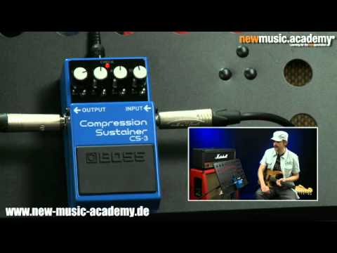 nma Pedal Check: Compression/Sustainer -- Boss CS-3