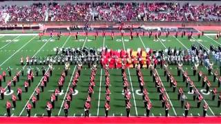 Pitt State Marching Band - Oct. 5th, 2013 (Mass Band)