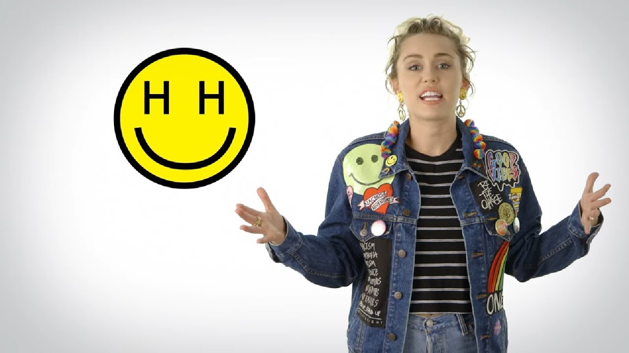 Miley Cyrus Talking About The Happy Hippie Foundation Youtube