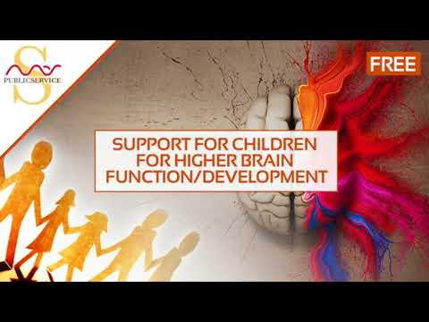 Mas Sajady | A Free Public Service: Support for Children for Higher Brain Function/Development