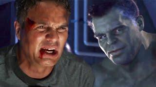 Banner & Hulk Fight Each Other and Smashes Avengers Endgame Deleted Scene Breakdown