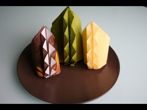 servietten falten bl ten napkin folding flower youtube