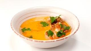 Пряный суп с телячьими мозгами | Субпродукты