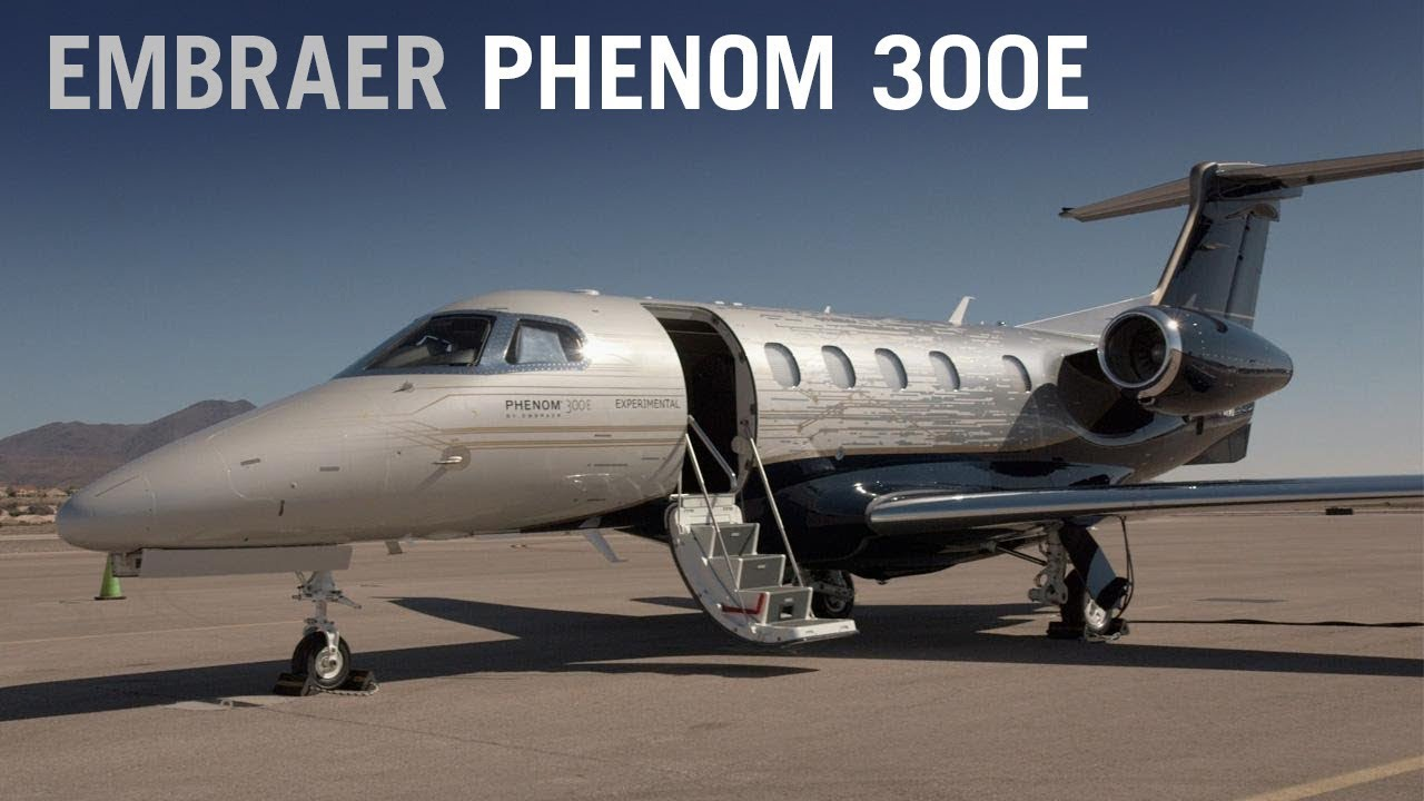 Embraer's New Phenom 300E Business Jet Debuts at NBAA 2017 – AINtv
