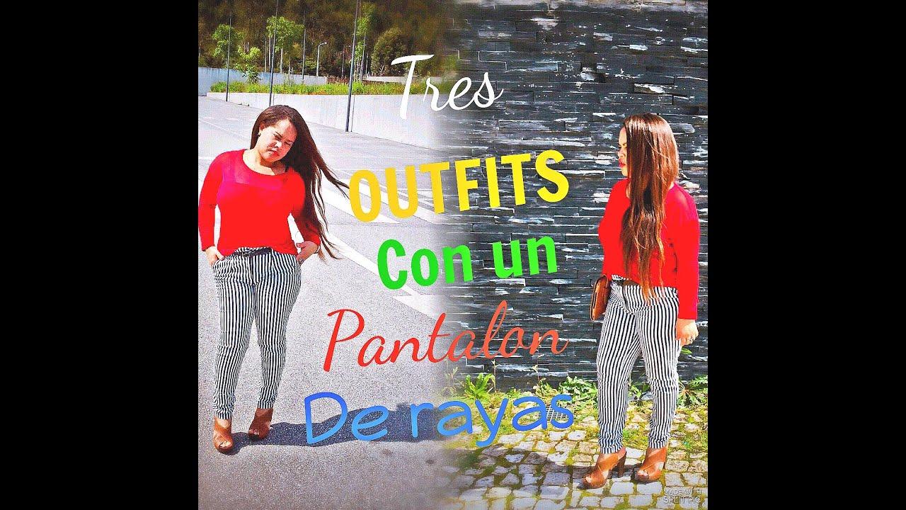 Como Combinar Rayas Pantalon De Rayas Youtube