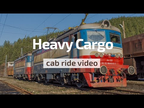 Cab Ride Bulgaria 🛤️ HEAVY coal train 🏋️‍♂️ TBD Cargo 44 143 & 44 072: Kalotina - Voluyak