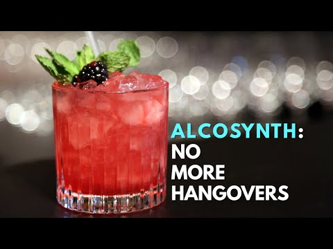 Alcosynth: The hangover-free future of drinking