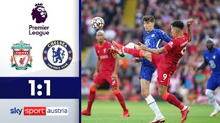 Starker Havertz sichert Chelsea einen Punkt | FC Liverpool - FC Chelsea | Highlights -Premier League