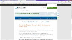 Quick Quote for Car Insurance Quote in Only 2 Minutes