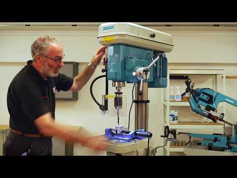 Axminster Engineer Series SB-250 Floor Pillar Drill - Demonstration
