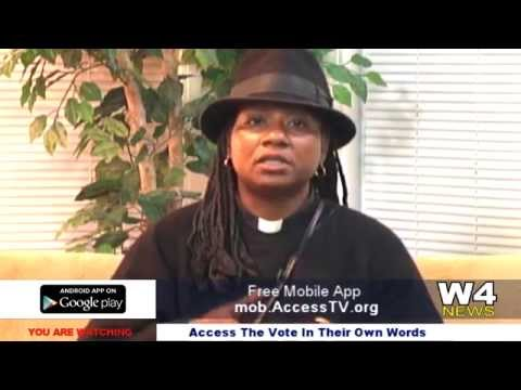 W4 News – Access The Vote – In Their Own Words – Patrice Smith – 10/23/2015