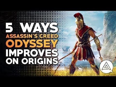 5 Ways Assassins Creed Odyseey Improves on Origins