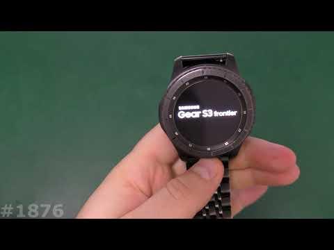 Сброс настроек часов Samsung Gear S3